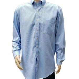 JOS A. Bank Cotton Button Down Stripe Shirt